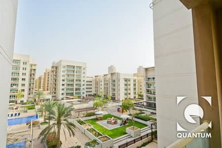 2 Bedroom Apartment for Rent in The Greens, Dubai - Partial Pool View | Vacant | Two Bedroom