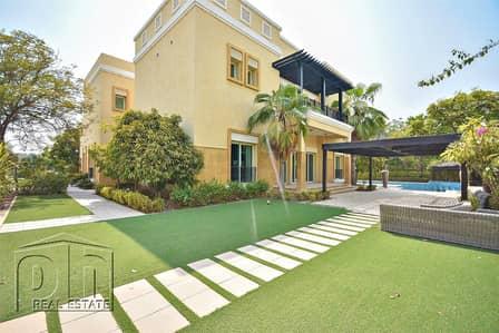 6 Bedroom Villa for Rent in Emirates Hills, Dubai - Lake Facing