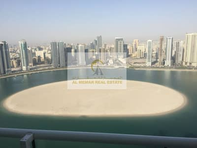 3 Bedroom Apartment for Rent in Al Majaz, Sharjah - 3 BHK with full amazing mamzar water view