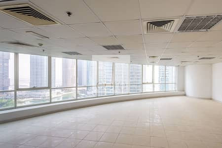 Office for Rent in Jumeirah Lake Towers (JLT), Dubai - Fitted Unit I Open Plan I Pantry I Toilet