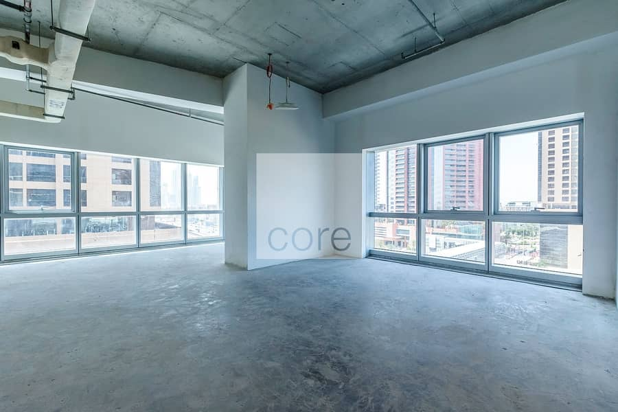 Grade A full Office Floor Shell and Core