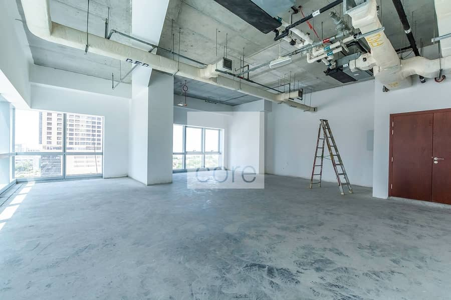 2 Grade A full Office Floor Shell and Core