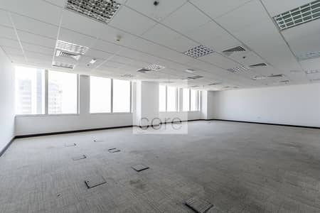 Floor for Rent in Dubai Media City, Dubai - Half floor office in Business Central B