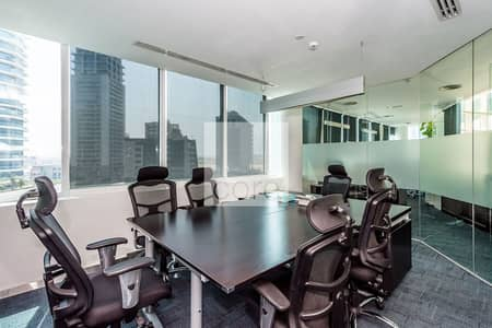 Office for Sale in Barsha Heights (Tecom), Dubai - Spacious fitted office for sale in Cayan