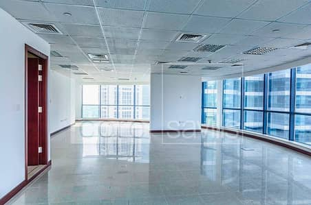 Fitted Office With partitions In Jumeirah Bay X3