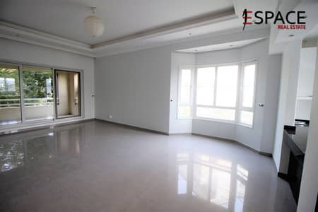 2 Bedroom Apartment for Rent in Green Community, Dubai - Pool And Garden View - Upgraded Corner 2BR