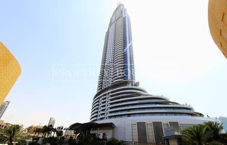 1 Bedroom Apartment for Sale in Downtown Dubai, Dubai - Hotel Pool | Type 12 | High Floor | Good Investment