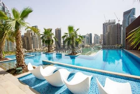 1 Bedroom Flat for Rent in Dubai Marina, Dubai - High Floor Unit | 1BR | Golf Course View
