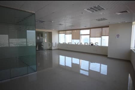 Office for Rent in Jumeirah Lake Towers (JLT), Dubai - Fitted  office for rent in HDS Tower JLT