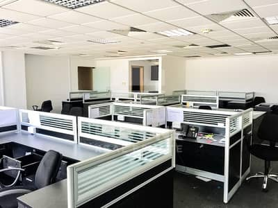 Office for Rent in Jumeirah Lake Towers (JLT), Dubai - Fully Fitted | Vacant | Pantry | Washroom