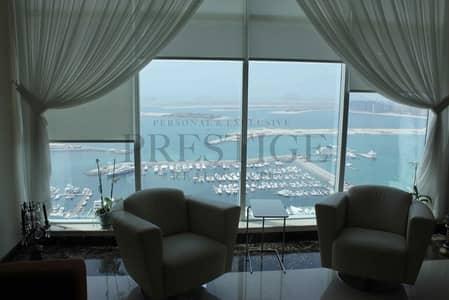 3 Bedroom Apartment for Rent in Dubai Marina, Dubai - 3 Bedrooms | Full Sea View | Dubai Marina