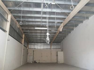 Spacious Warehouse for rent in Industrial Area