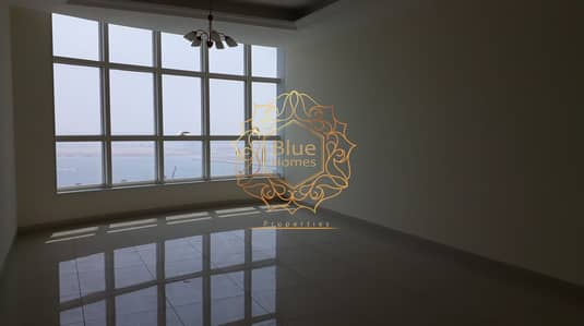 3 Bedroom Apartment for Rent in Al Mamzar, Sharjah - BRAND NEW SEA VIEW CHILLER FREE 3BHK APT