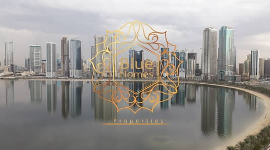 3 Bedroom Apartment for Rent in Al Mamzar, Sharjah - Brand New Sea View 3BHK with Parking Free