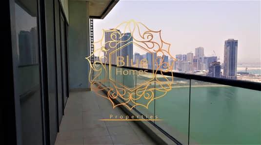 3 Bedroom Flat for Rent in Al Qasba, Sharjah - Full Sea View A/C Free 3-BHK All Masters