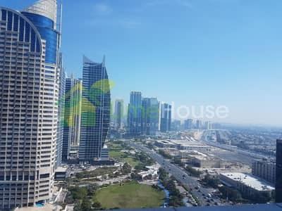 Office for Rent in Jumeirah Lake Towers (JLT), Dubai - Vacant | Semi-Fitted | Large | Open View
