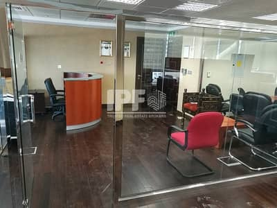 Furnished & Partitioned Office Space-JLT