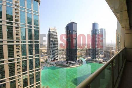 Furnished 1 Bed apartment with Full Lake and City view