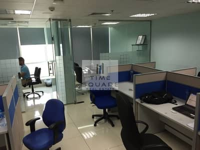 Office for Rent in Jumeirah Lake Towers (JLT), Dubai - Fortune Tower | Partitioned | Near Metro
