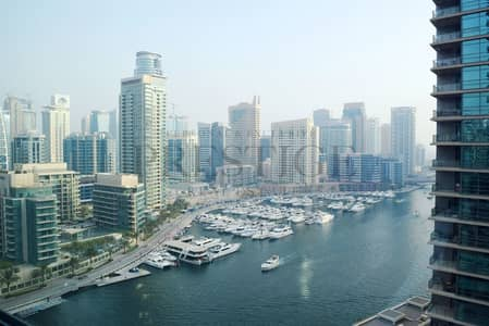 1 Bedroom Apartment for Rent in Dubai Marina, Dubai - 1 Bedroom    Marina View   Unfurnished