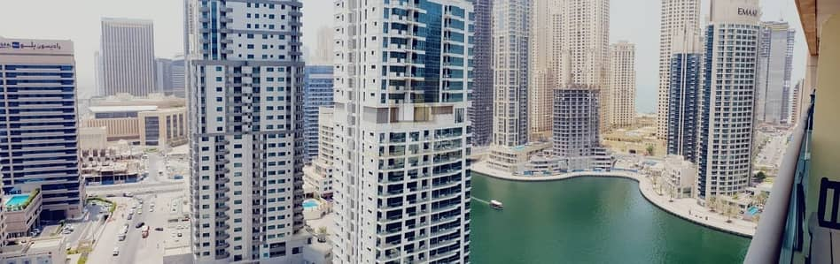 1 Bedroom Apartment for Sale in Dubai Marina, Dubai - Sea View Vacant 1BR w/Blcny Chiller Free