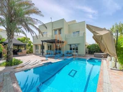 Private pool| 5 BR Villa in Meadows 9