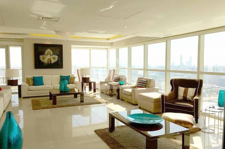 5 Bedroom Penthouse for Sale in Al Reem Island, Abu Dhabi - Marina city view