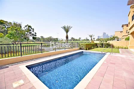 4 Bedroom Villa for Rent in Emirates Golf Club, Dubai - Lake View | Introductory Offer |Must See