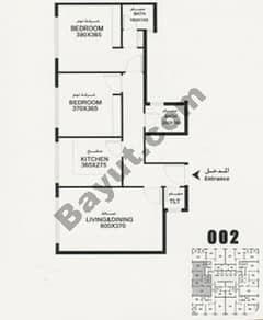Flat 002 Floorplan