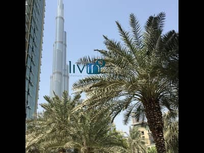 Well Maintained   Rare Layout   Partial Burj and Lake Views   Burj Residences 7   Downtown Dubai