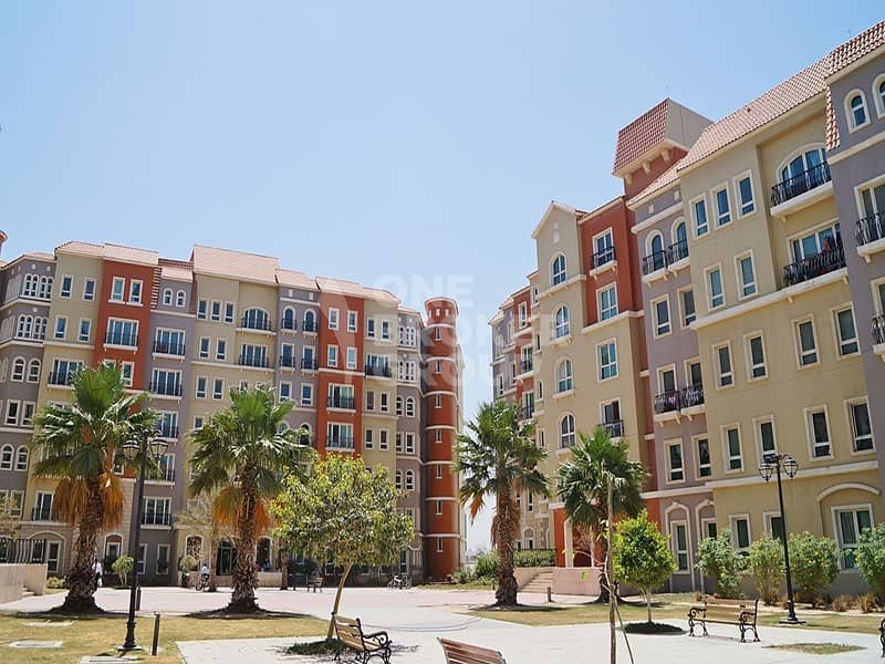 10 Well Maintained 1 Bed Apt.  Med Cluster