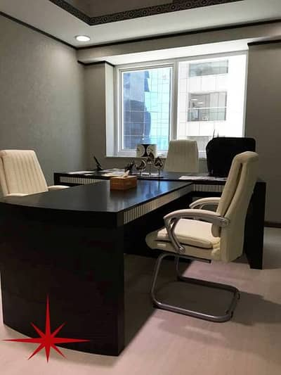 Ready to Move In , Fully Furnished Office On Main SZR