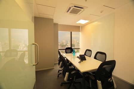 مکتب  للايجار في الكرامة، دبي - FURNISHED OFFICE WITH SEPARATE EJARY  AND ALL THE UTILITY INCLUDED 4 PAYMENTS