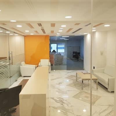 مکتب  للايجار في شارع حمدان، أبوظبي - مکتب في شارع حمدان 80000 درهم - 3490487