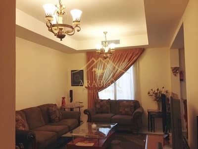 Fully Furnished 2 Bedrooms plus maids in Springs 2