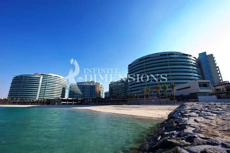 Negotiable! 1BR + Balcony in the beautiful Al Raha Beach!