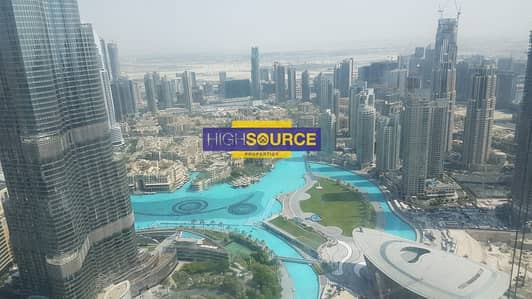 3 Bedroom Flat for Rent in Downtown Dubai, Dubai - Excelaent | 3 bedrooms+maidroom with amazing burj khalfa view for rent in Burj Vista-1 Downtown