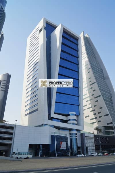 Spacious unfurnished & Fitted Office in Business Bay near Metro Station