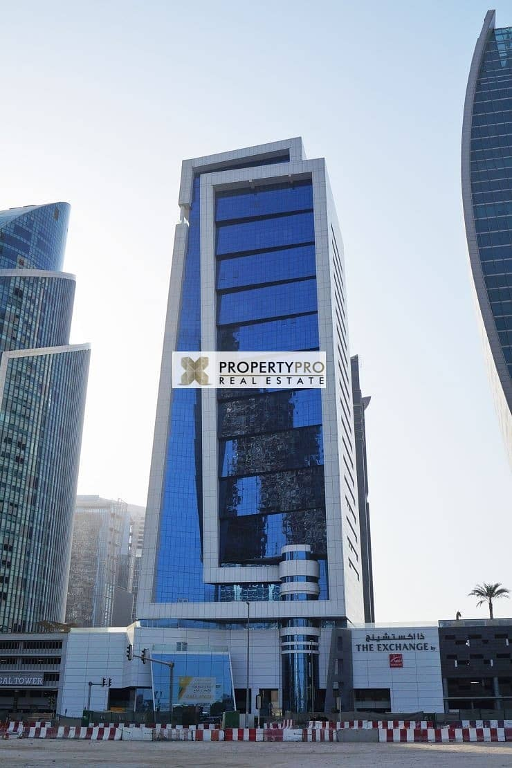 2 Spacious unfurnished & Fitted Office in Business Bay near Metro Station