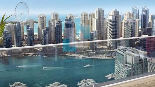 1 Bedroom Flat for Sale in Dubai Marina, Dubai - Genuine Listing! I Marina View I Motivated Seller I Corner