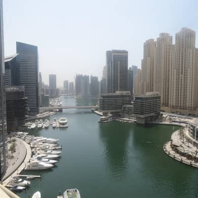 3 Bedroom Flat for Sale in Dubai Marina, Dubai - Huge Marina View Apartment with Expansive Terraces!