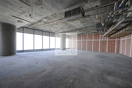 Office for Rent in Al Reem Island, Abu Dhabi - High FLoor shell and core with sea view