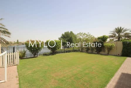 3 Bedroom Villa for Rent in Arabian Ranches, Dubai - Well Maintained Garden Type 1E Lake View