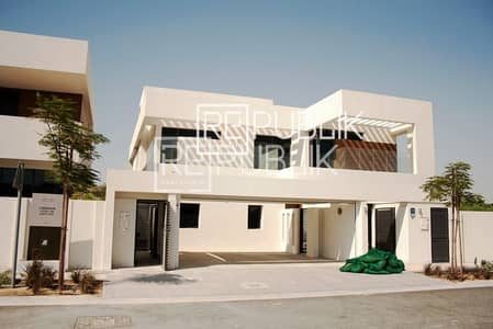 The Best Offer Single Row 5BR Villa in West Yas