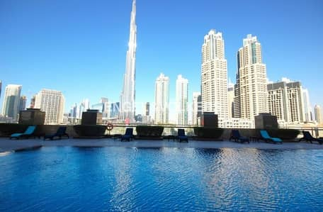 Huge Layout | Burj View |With Study Room