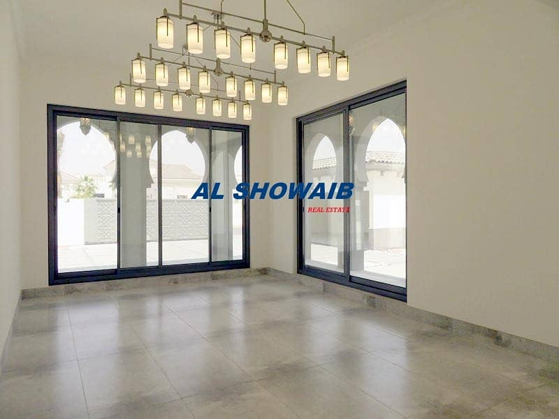 8 Stunning 7000 Sq-ft  5 Br Villa with Pool in Al Barsha 3