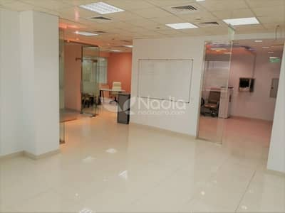 Fitted Office w/ Partitions| Sheikh Zayed Road | For Rent