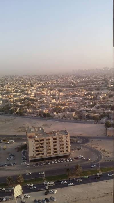 2 bhk biggest size  city view with parking in Ajman one tower