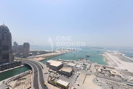 3 Bedroom Flat for Rent in Dubai Marina, Dubai - Exclusive!!! Largest 3BR+m full sea view