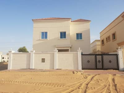 Free Hold Villa For Sale in ajman finishing and good price near Mohamed Ben zayed road